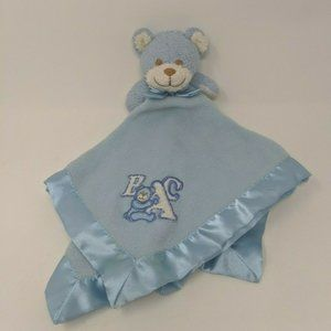 Blankets & Beyond Lovey Bear ABC Security Blanket